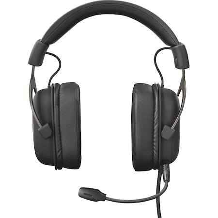 Слушалки Gaming Trust GXT 414 Zamak Premium, Черни