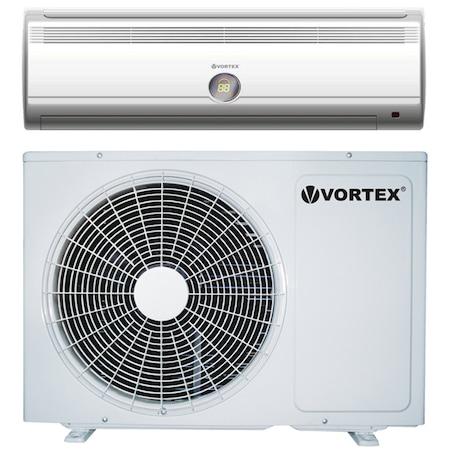 Aparat de aer conditionat Vortex VAC-A18A1D, 18000 BTU, Clasa A, Auto-restart, Dezumidificare, Kit instalare inclus