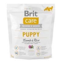 Суха храна за кучета Brit Care Puppy, Агнешко с ориз, 1 кг