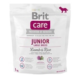 Hrana uscata pentru caini Brit Care, Junior, Large Breed, Miel si Orez, 1kg