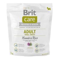 Суха храна за кучета Brit Care, Adult, Small Breed, Агнешко и ориз, 1 кг