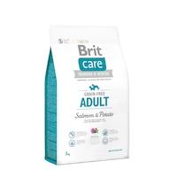 Храна за кучета Brit Care, Grain-free, Adult, Сьомга и картофи, 3 кг