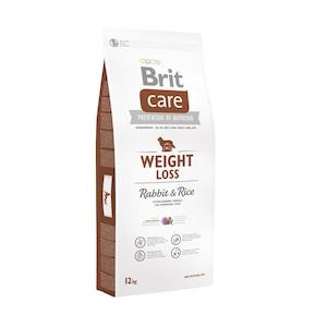Hrana uscata pentru caini Brit Care, Weight Loss, Iepure si Orez, 12kg
