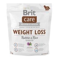 Суха храна за кучета Brit Care, Weight Loss, Заешко и ориз, 1 кг