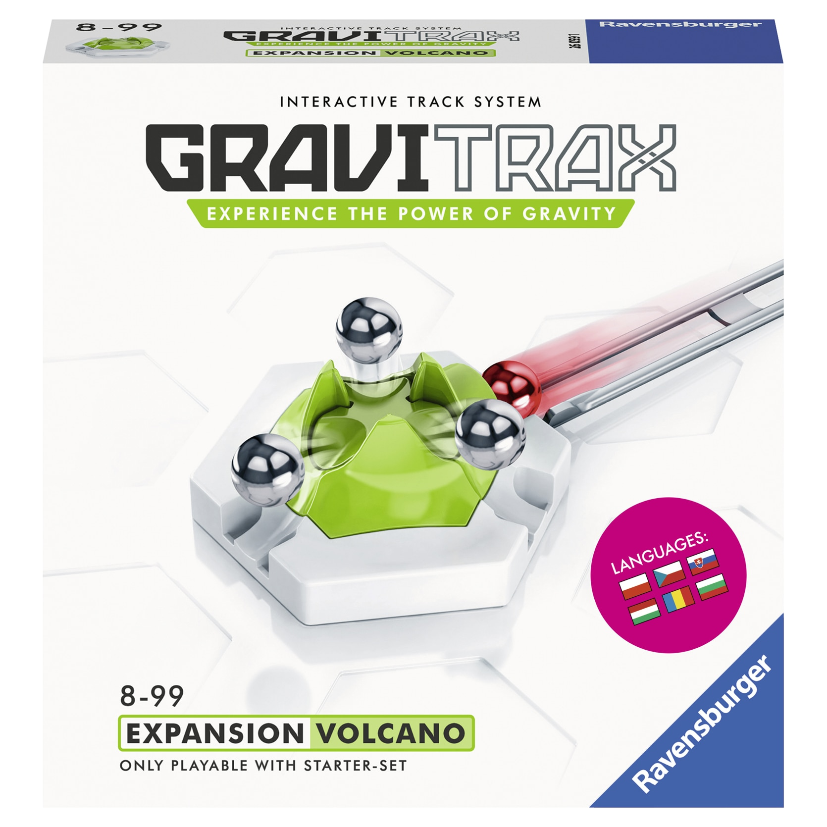 Fotografie Set accesorii GraviTrax, Vulcan