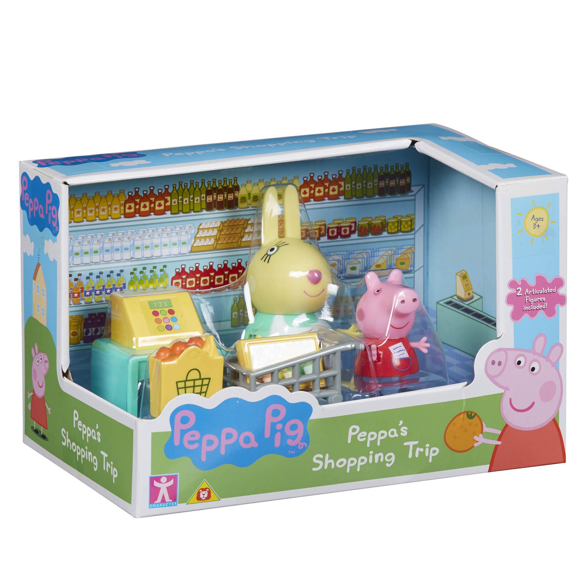Fotografie Set figurine Peppa Pig - Shopping trip