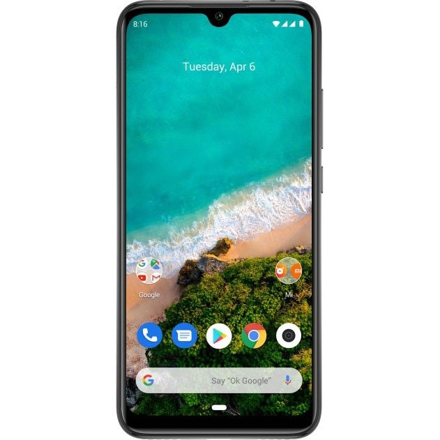 Fotografie Telefon mobil Xiaomi Mi A3, Dual SIM, 64GB, 4G, Kind of Grey