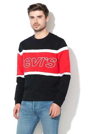 Levi's, Суитшърт с бродирано лого,79550-0000