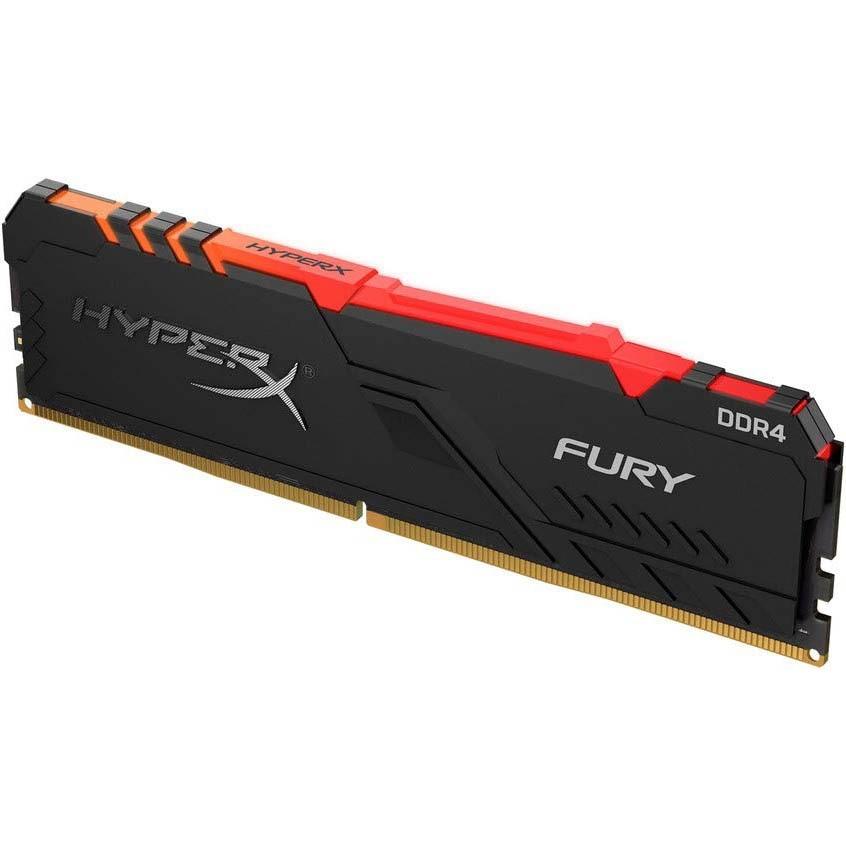 Fotografie Memorie HyperX Fury RGB 16GB, DDR4, 3200MHz, CL16, 1.35V