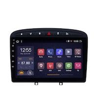 Мултимедия с навигация ZT, за Peugeot 308, 408 2010-2016, Android 10.1 4+1+16