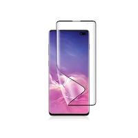 Удароустойчив Протектор Nano 6D Full за Samsung Galaxy S10 Plus, Черен