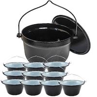 ceaun aluminiu 30 litri