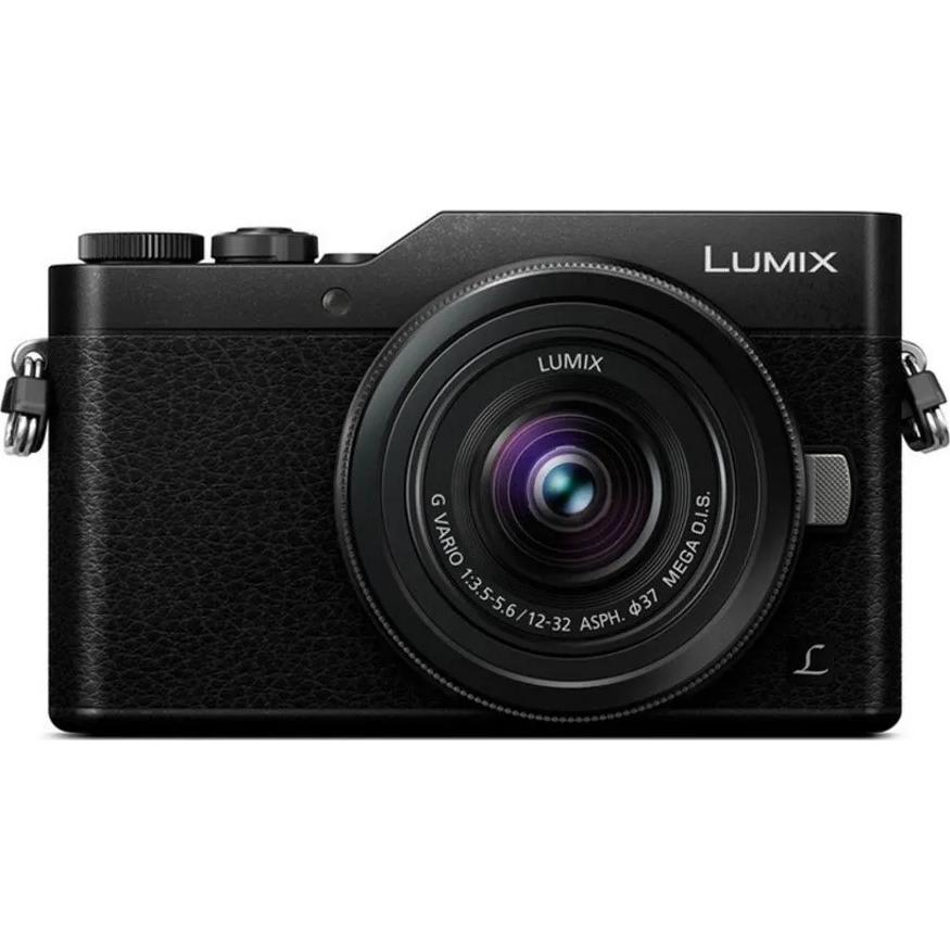 Fotografie Aparat Foto Mirrorless Panasonic Lumix DC-GX880, 16MP 4K Kit cu Obiectiv 12-32mm F/3.5-5.6 Negru