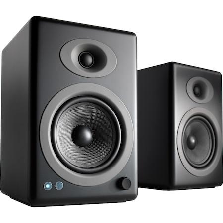 Boxe Audioengine A5+ Wireless, Negru