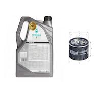 5л Двигателно Масло SELENIA с Маслен филтър за ALFA ROMEO 166 (936) 2.4 (02 - 07г) Дизел