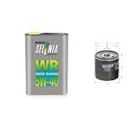 5л Двигателно Масло SELENIA с Маслен филтър за ALFA ROMEO 156 (932) 1.9 до 2.4 (00 - 97г) Дизел