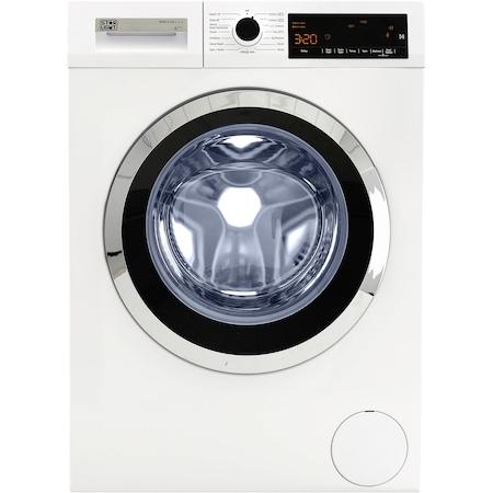 Masina de spalat rufe Star-Light WMV-814A+++, 8 kg, 1400 RPM, Display LED, Clasa A+++, Alb