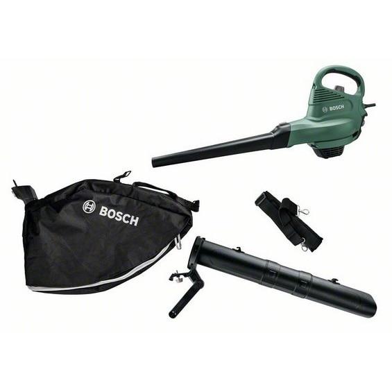 Fotografie Suflanta&aspirator pentru gradina Bosch Universal GardenTidy 06008B1000, 1800 W, 285 km/h viteza maxima, 160 l/s debit aer
