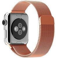 Каишка iUni Milanese Loop за Apple Watch 40 мм Стомана Rose Gold