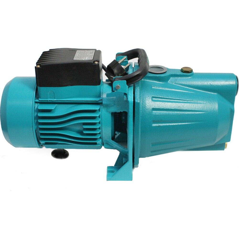 Fotografie Pompa apa de suprafata DETOOLZ JET 100L, 0,75kW/1HP,corp fonta,debit maxim 65l/min, adancime maxima 9m, inaltime nominala pompare 42m