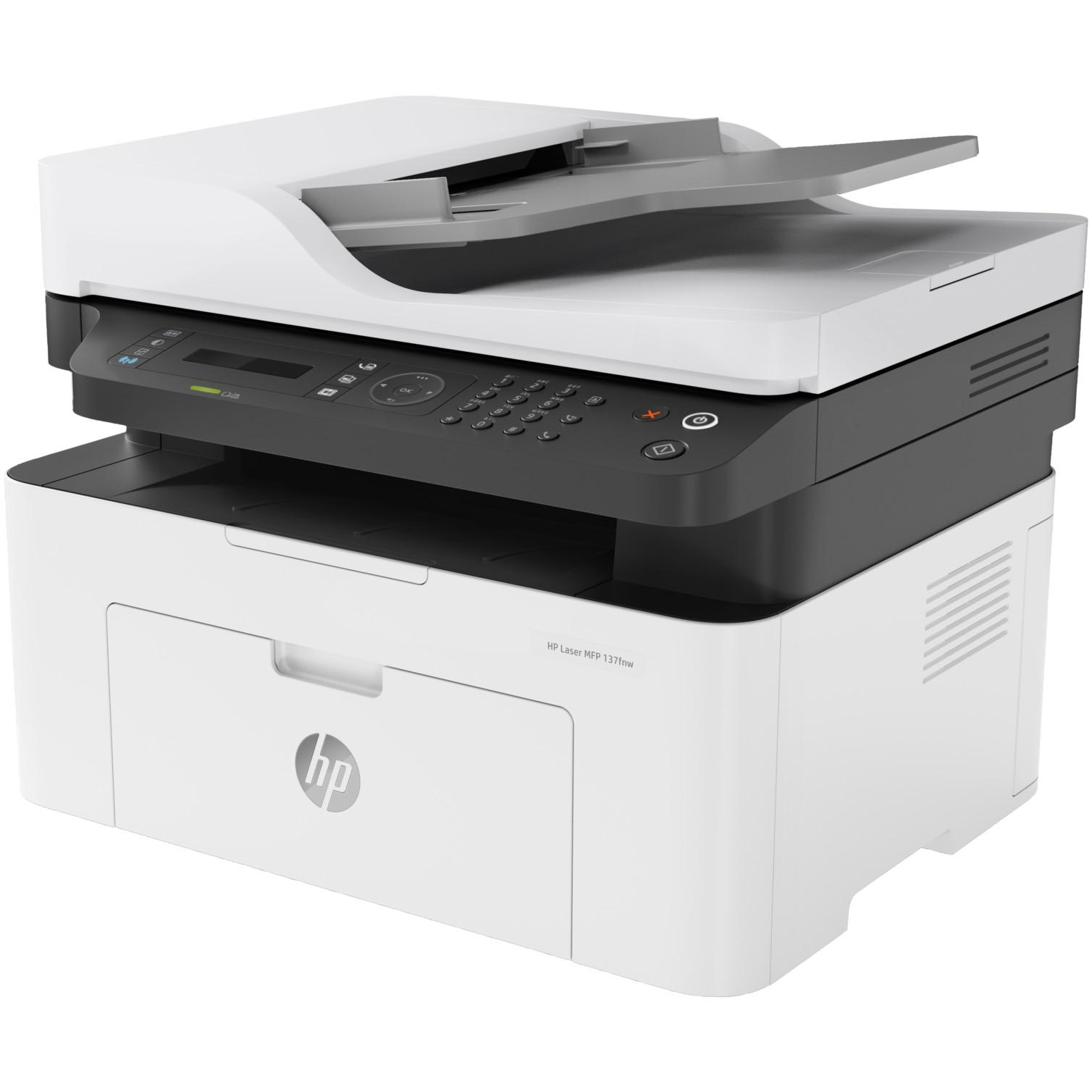 Fotografie Multifunctional HP monocrom, wireless, A4, MFP 137fnw