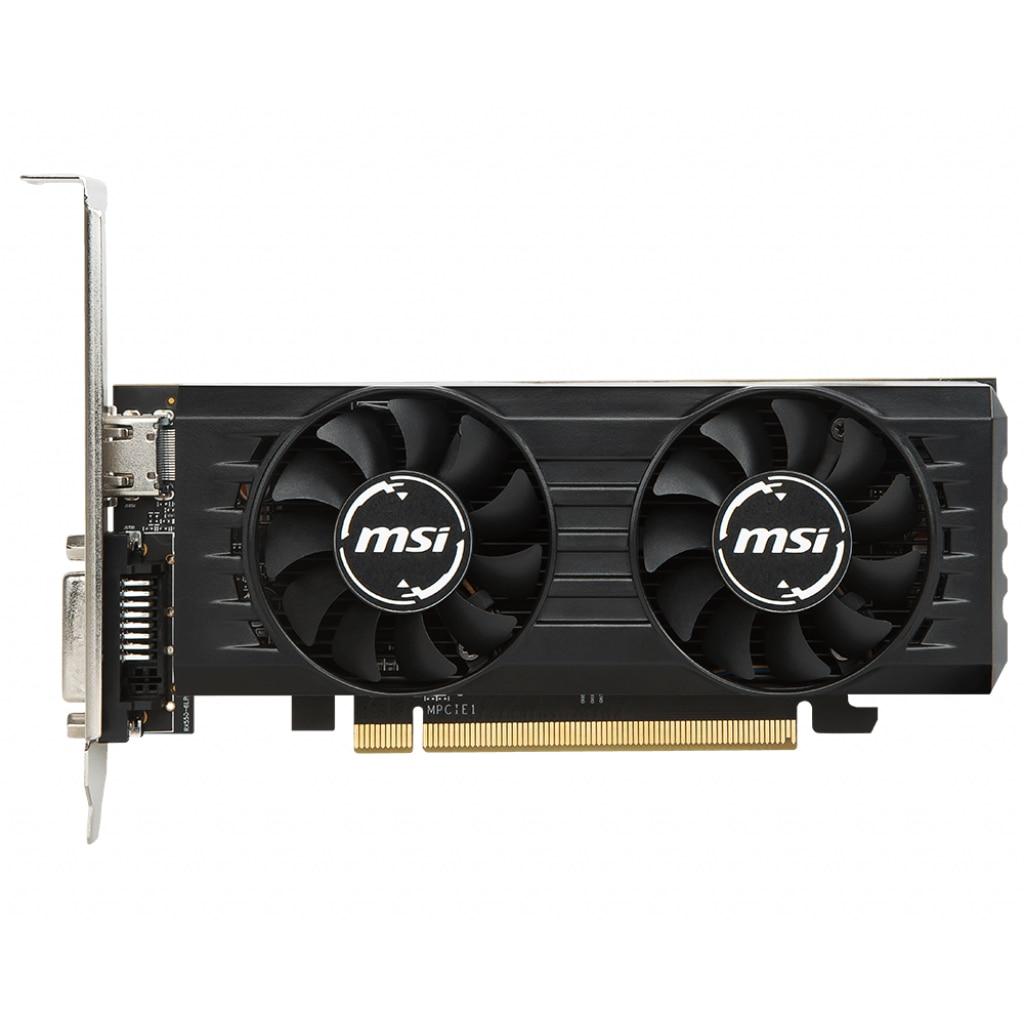 Fotografie Placa video MSI Radeon RX 550 OC Low Profile, 4GB GDDR5, 128-bit