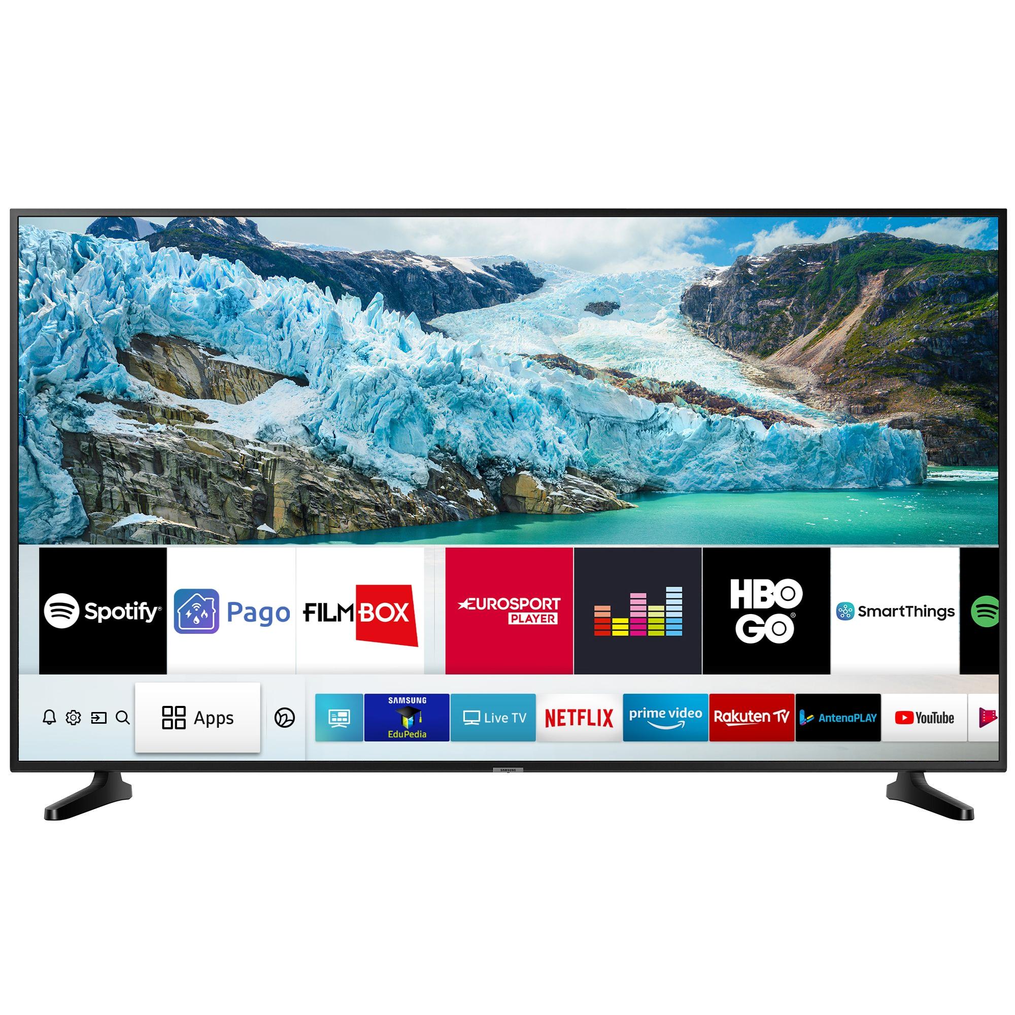 Fotografie Televizor LED Smart Samsung, 163 cm, 65RU7092, 4K Ultra HD, Clasa A+