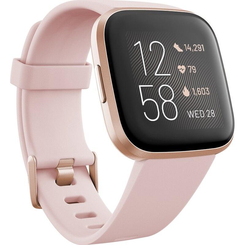 Fotografie Ceas smartwatch Fitbit Versa 2, NFC, Petal/Copper Rose