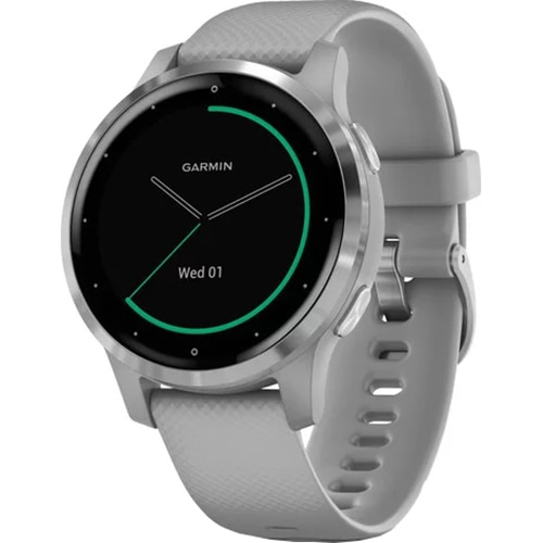Fotografie Ceas smartwatch Garmin Vivoactive 4S, Powder Gray/Silver