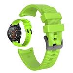 Силиконова каишка S-pulse за , Samsung Galaxy Watch R800 , Watch 3, Huawei watch GT/GT2/GT2 Pro/Watch 3/ Watch 3 pro, 22mm, зелен