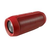 Boxa portabila wireless bluetooth cu port USB si slot card SD, Charge 2+, rezistenta la apa, Culoare Rosu