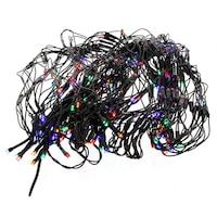 Well Fényfüzér, 240 típusú színes LED-ekkel, Fekete Kábelvilágítóval