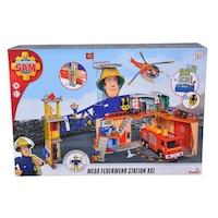 Sam a tűzoltó Körmöspálcás mega xxl tűzoltóállomás játék Sam tűzoltóval