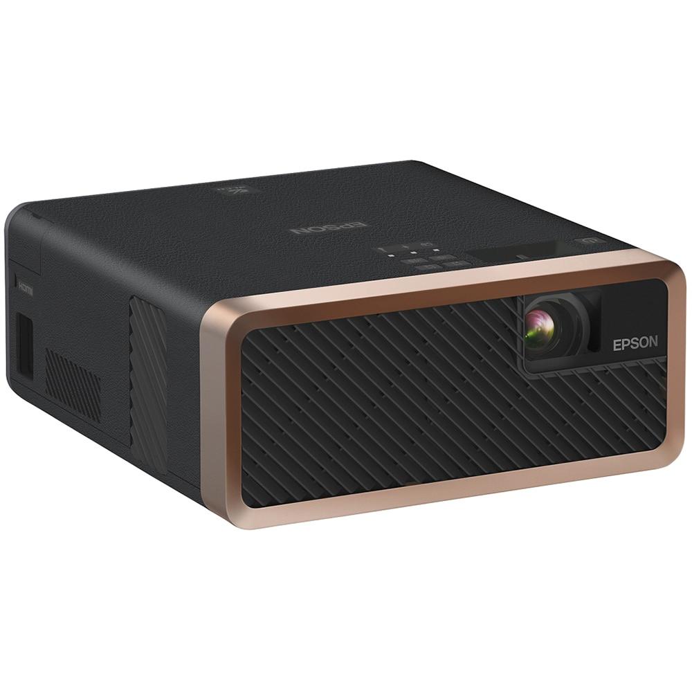 Fotografie Videoproiector Epson EF-100B, Home Cinema, Laser, 3LCD, HD ready, HDMI, Negru