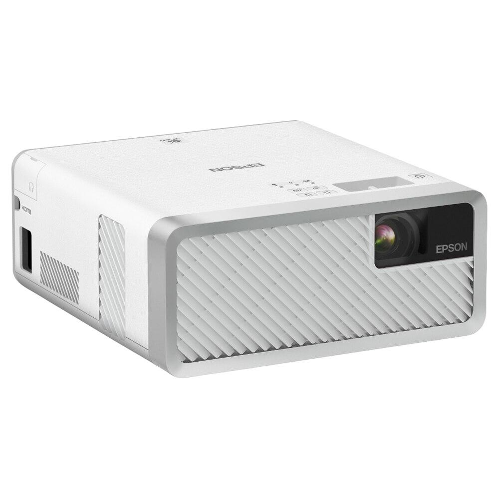 Fotografie Videoproiector Epson EF-100W, Home Cinema, Laser, 3LCD, HD ready, HDMI, Alb