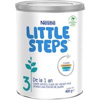 Lapte praf Nestle Little Steps 3, 400 g, de la 1 an