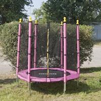 trambulina roz