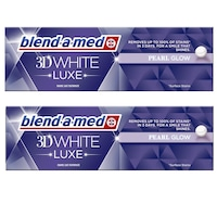 Комплект паста за зъби Blend-a-Med 3DW Luxe Pearl Glow, 2 X 75 мл