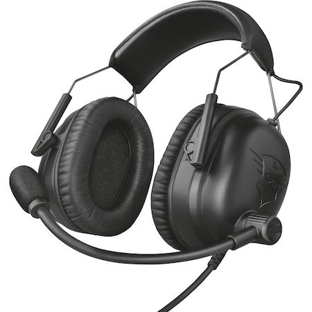 Слушалки Gaming Trust GXT 444 Wayman Pro, Черни
