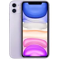 Apple iPhone 11 Mobiltelefon, Kártyafüggetlen, 128GB, LTE, Lila