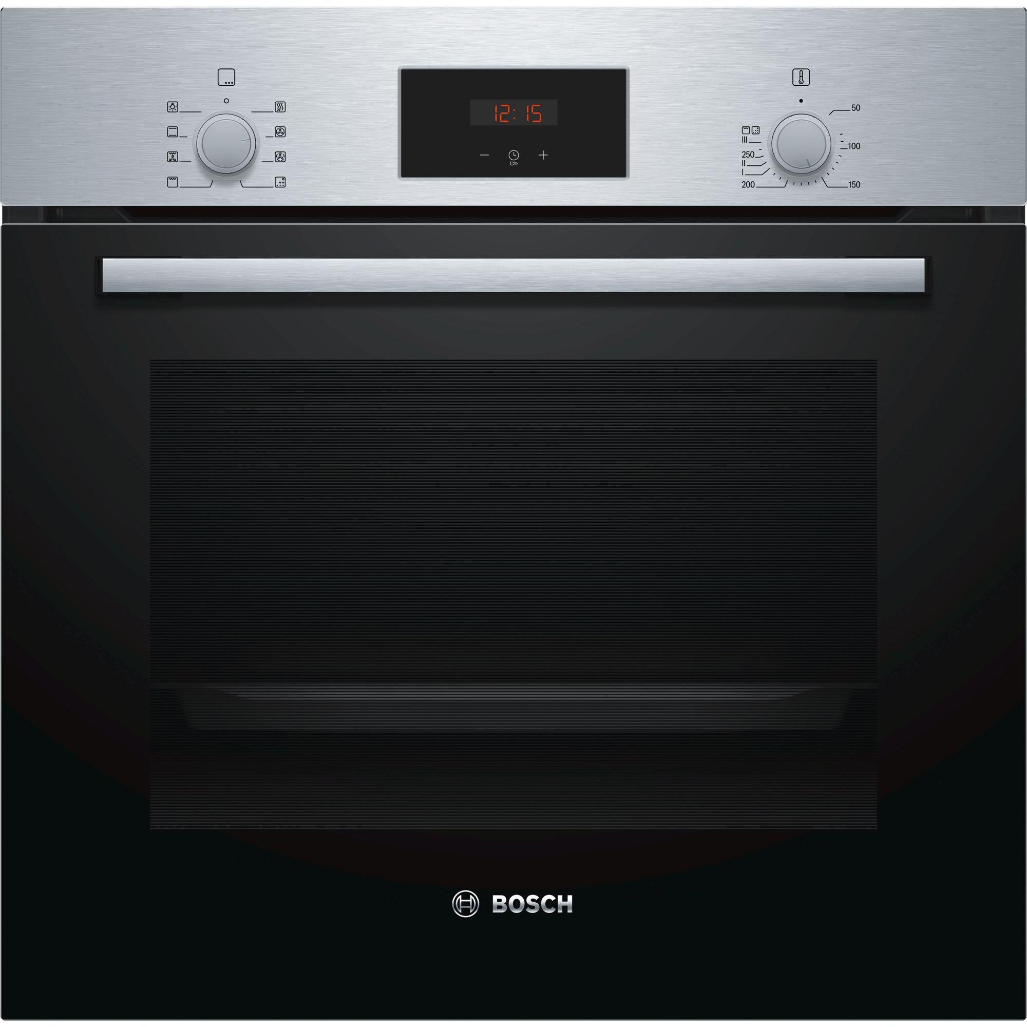 Fotografie Cuptor incorporabil Bosch HBF153BS0, Electric, Autocuratare EcoClean Direct, 66 l, Clasa A, Inox