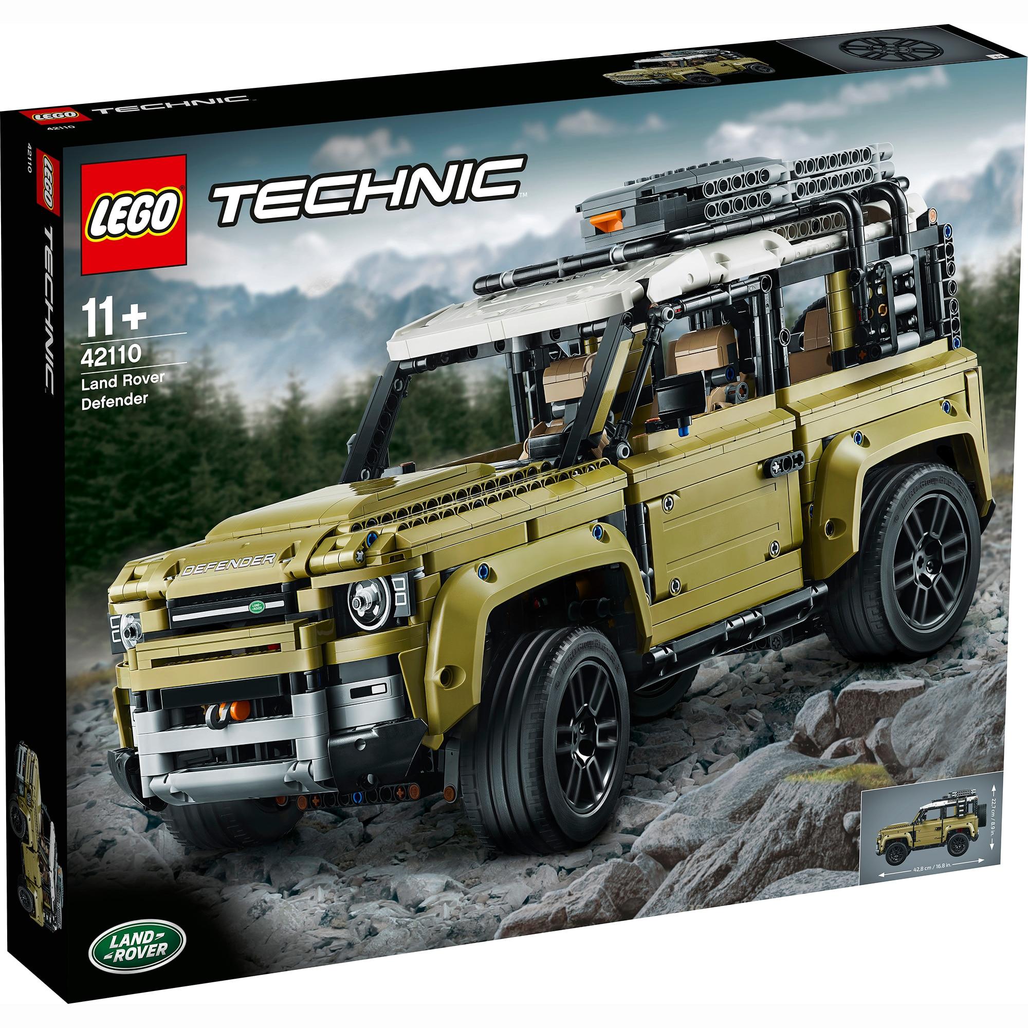 Fotografie LEGO Technic - Land Rover Defender 42110, 2573 piese