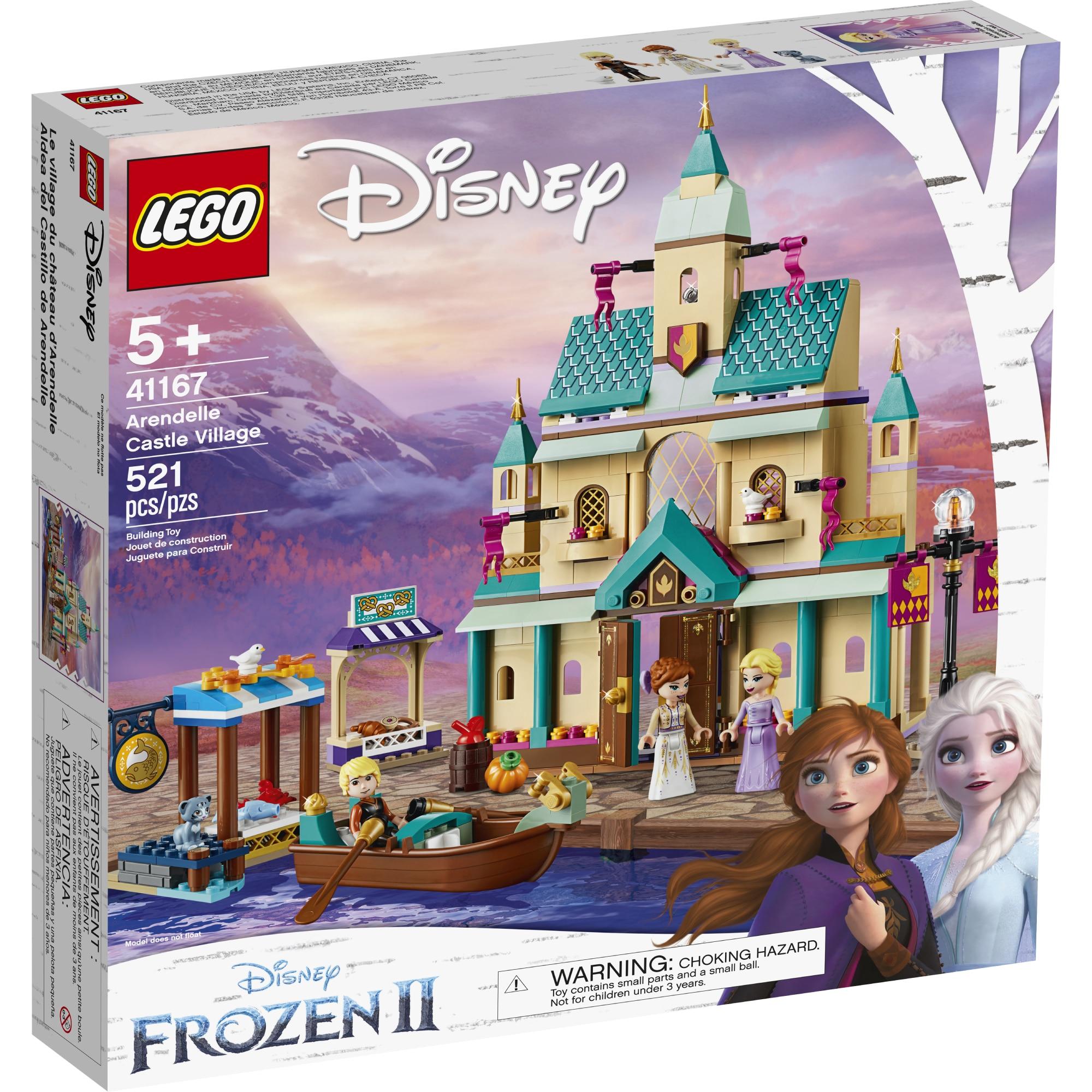Fotografie LEGO Disney Frozen II - Satul castelului Arendelle 41167