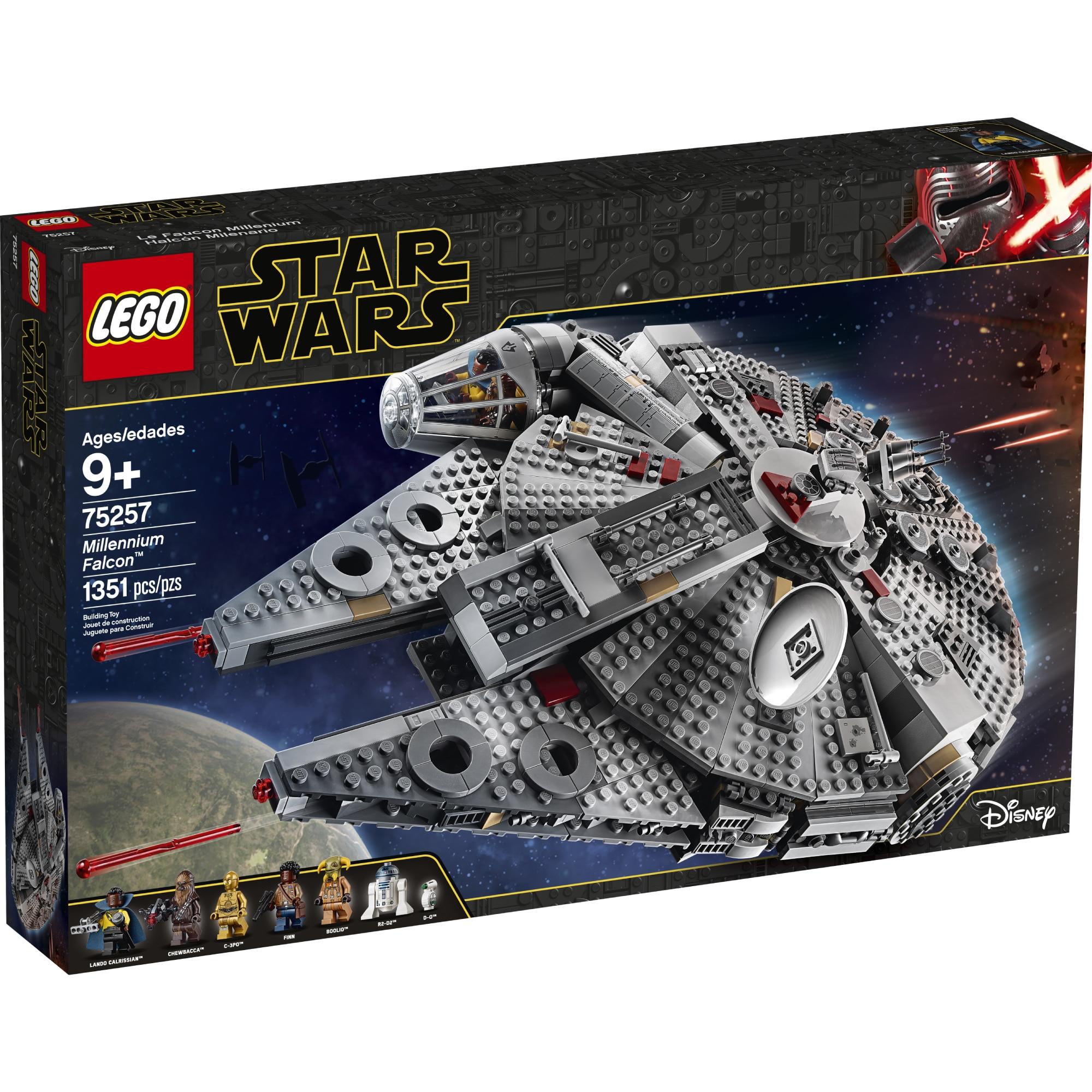 Fotografie LEGO Star Wars - Millennium Falcon 75257, 1353 piese