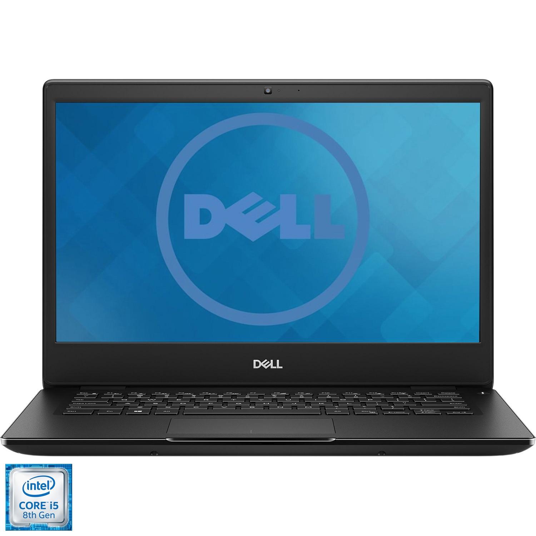 "Fotografie Laptop ultraportabil Dell Latitude 3400 cu procesor Intel Core i5-8265U pana la 3.90 GHz, 14"", Full HD, 8GB, 256GB SSD, Intel UHD Graphics, Ubuntu, Black"