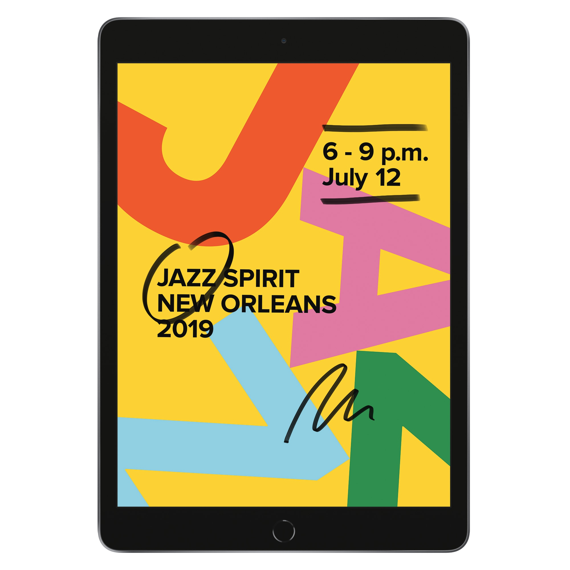 Fotografie Apple iPad 10.2'' (2019), 32GB, Wi-Fi, Space Grey