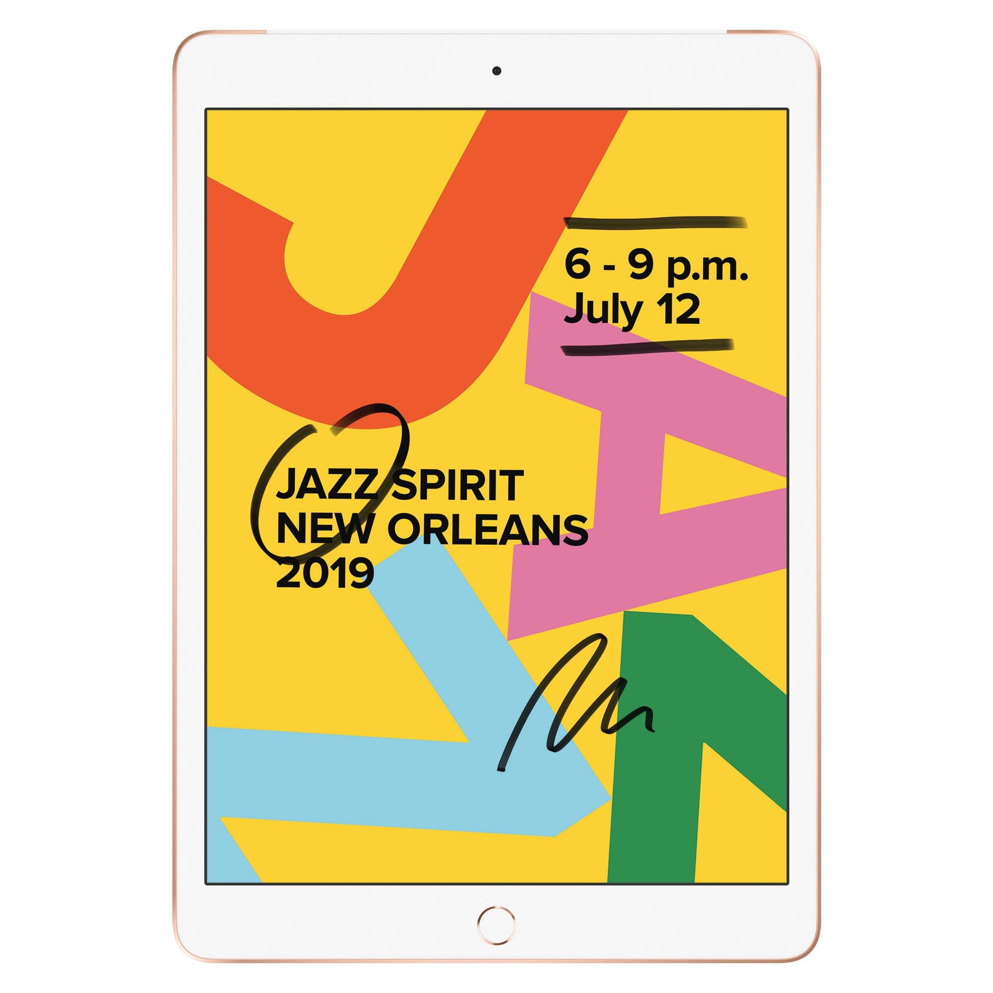 Fotografie Apple iPad 10.2'' (2019), 32GB, Cellular, Gold