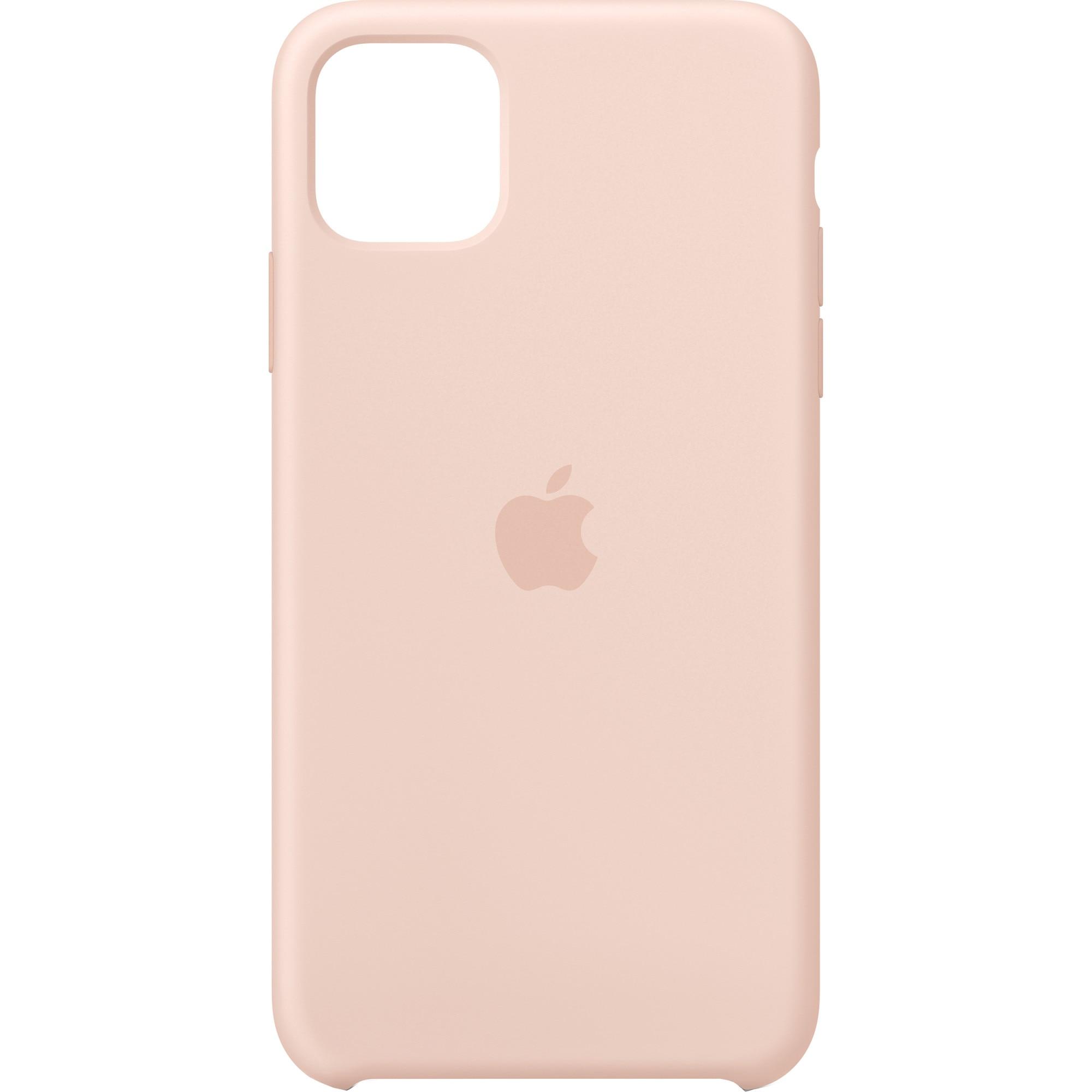 Fotografie Husa de protectie Apple pentru iPhone 11 Pro Max, Silicon, Pink Sand