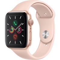 Apple Watch 5, GPS, szürke alumíniumtok 44 mm, sportszíjjal, 44, Arany