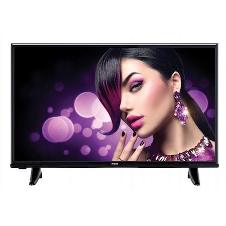 Телевизор SMART NEO LED-32281SW HD SMART WIFI, 32''(81см), LED HD, Wi-Fi, Резолюция 1366х768, Черен